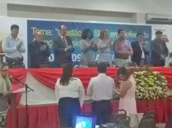 Silvia Sirena é reeleita por aclamação, presidente do Conselho de Secretários Municipais de saúde de MT.