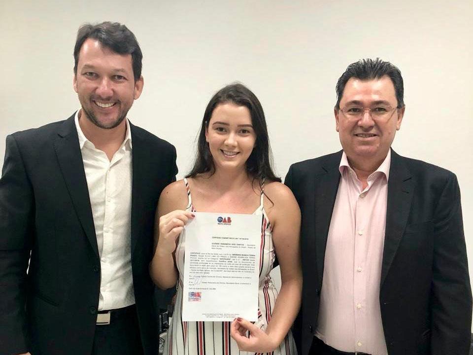 20ª Subseção da OAB de Juara ganha mais uma advogada