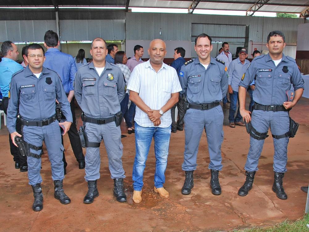 Vereador Ilso Pereira parabeniza o trabalho da Polícia Militar do Vale do Arinos.