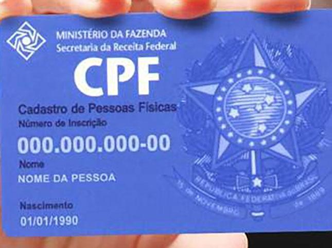 CPF vira documento único para acessar benefícios e informações públicas.