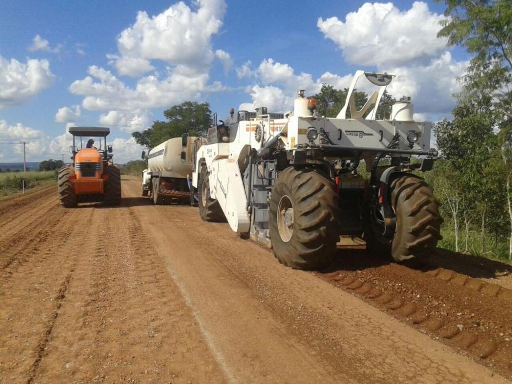Ordens de serviço de obras contemplam 9 regiões principais de Mato Grosso