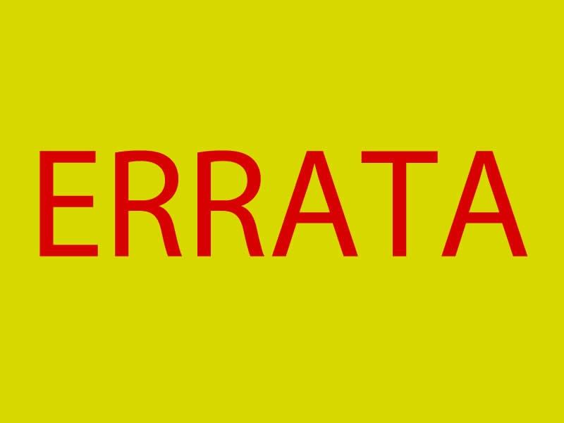 ERRATA: Erramos na matéria da aprovação do relatório das contas da ex-prefeita Luciane Bezerra.