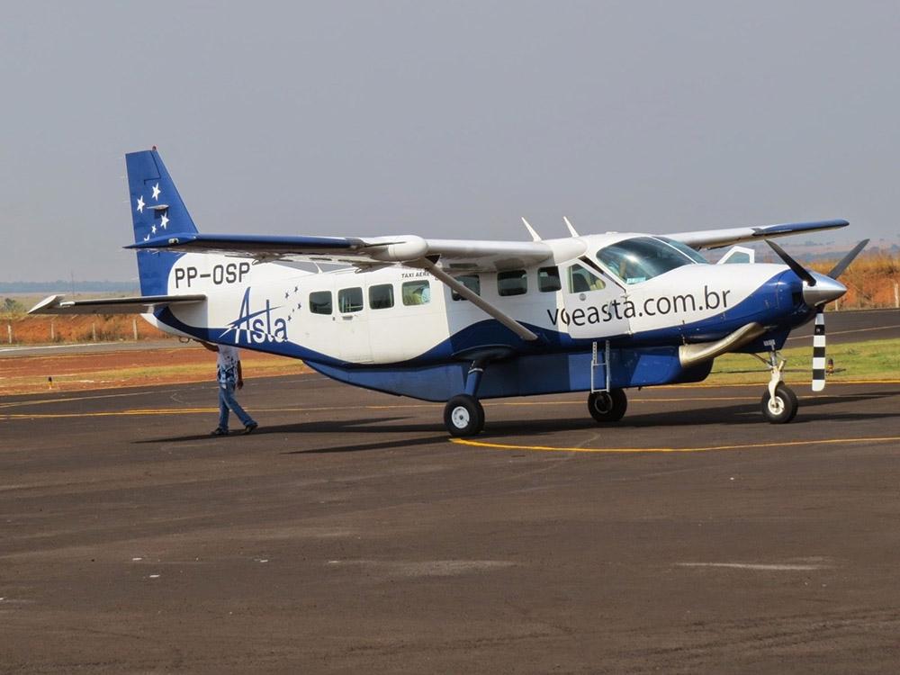 Empresa ASTA retomou voos de Juara a Cuiabá essa semana.
