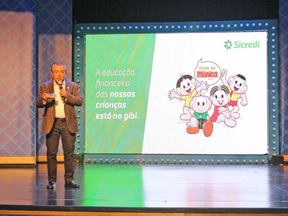 Turma da Mônica e Sicredi lançam desenhos animados sobre educação financeira.