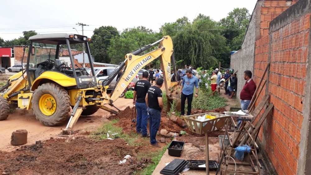 Polícia Civil faz buscas a ossadas de mulheres desaparecidas em 2013