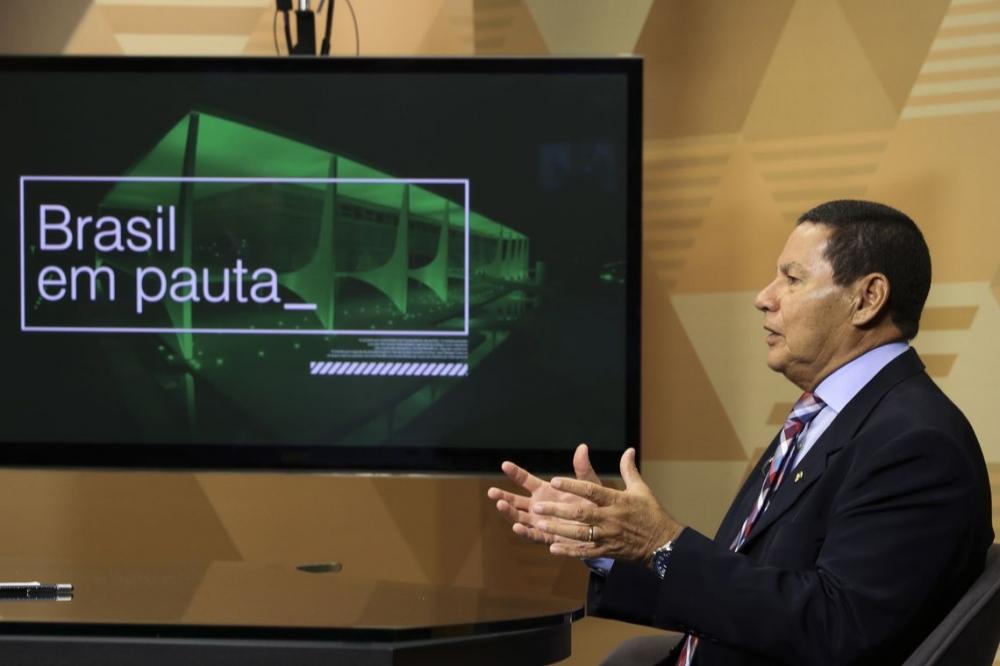 Vice-presidente Mourão quer fortalecer cooperação com a China