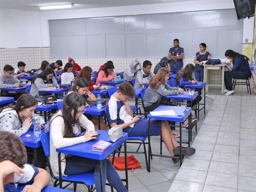 IBGE faz pesquisa sobre Saúde Escolar com alunos de Mato Grosso