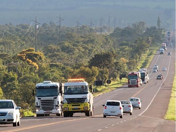 Trecho da BR-163 entre Peixoto de Azevedo e Matupá recebe nova sinalização