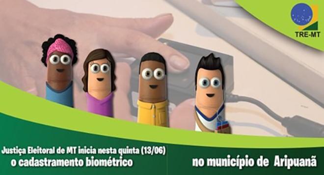 TRE-MT inicia biometria no município de Aripuanã