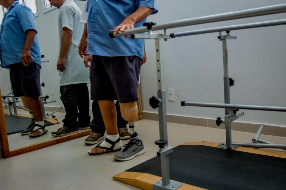 Cridac realiza mutirão para atender pacientes que necessitam de próteses ortopédicas