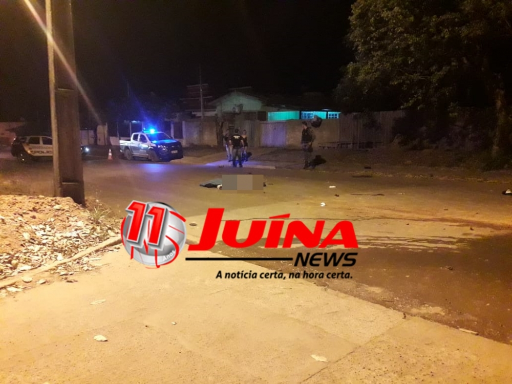 Mulher morre esmagada em grave acidente de trânsito em Juína