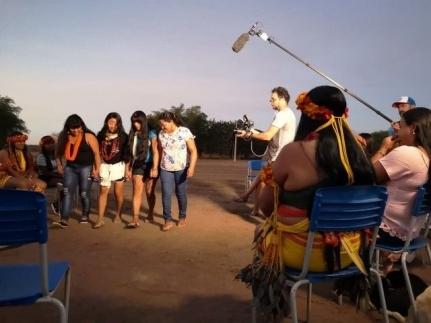 Faculdade Indígena da Unemat participa de programa da Rede Globo