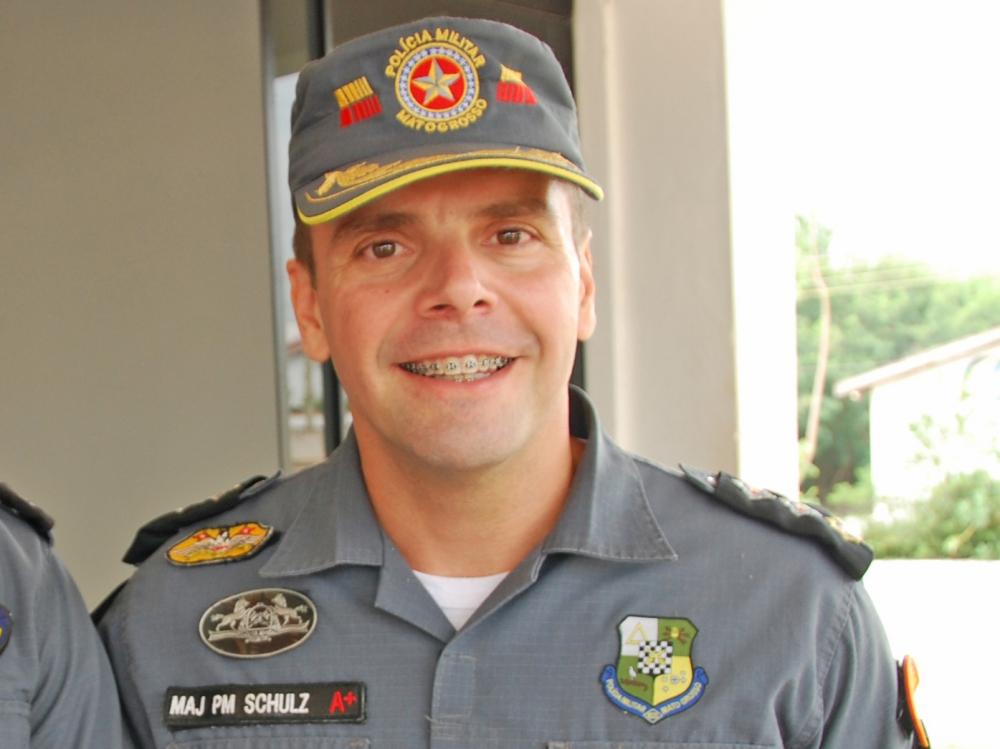 Tenente Coronel Fernando Schulz volta ao comando da Polícia Militar do Vale do Arinos.