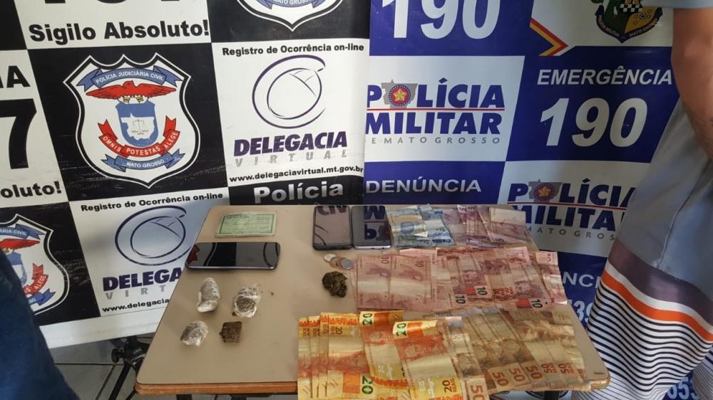 Operação integrada cumpre nove buscas contra o tráfico de drogas em Jaciara