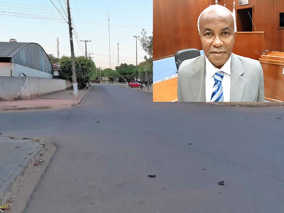 Vereador Hélio Castão pede redutor de velocidade na Avenida José Alves Bezerra.