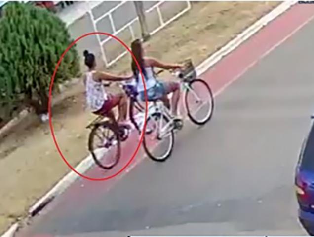 Investigada perde prisão domiciliar após ser flagrada de bicicleta pelas ruas de Vera