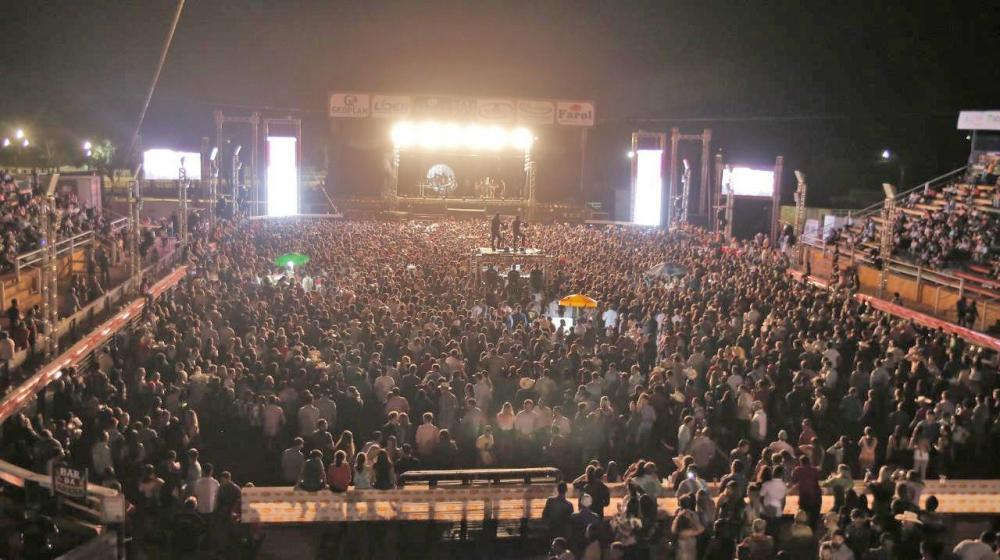 Expovale bate novo recorde de público com o Show de Bruno e Barretto.