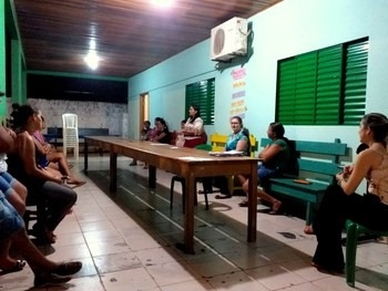 35ª Zona Eleitoral de Juína realiza palestra para 30 famílias