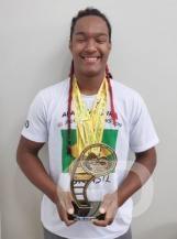 Mato-grossense de 17 anos ganha campeonato mundial de capoeira