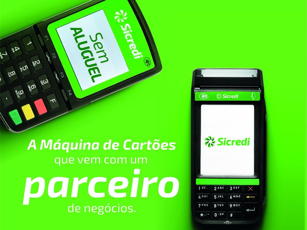 Sicredi se fortalece no mercado de máquinas de cartões com o lançamento da Máquina Compacta.