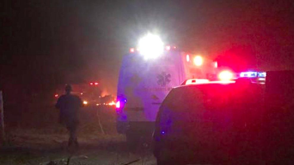 Avião cai em Guarantã do Norte, pega fogo, empresário e filho morrem