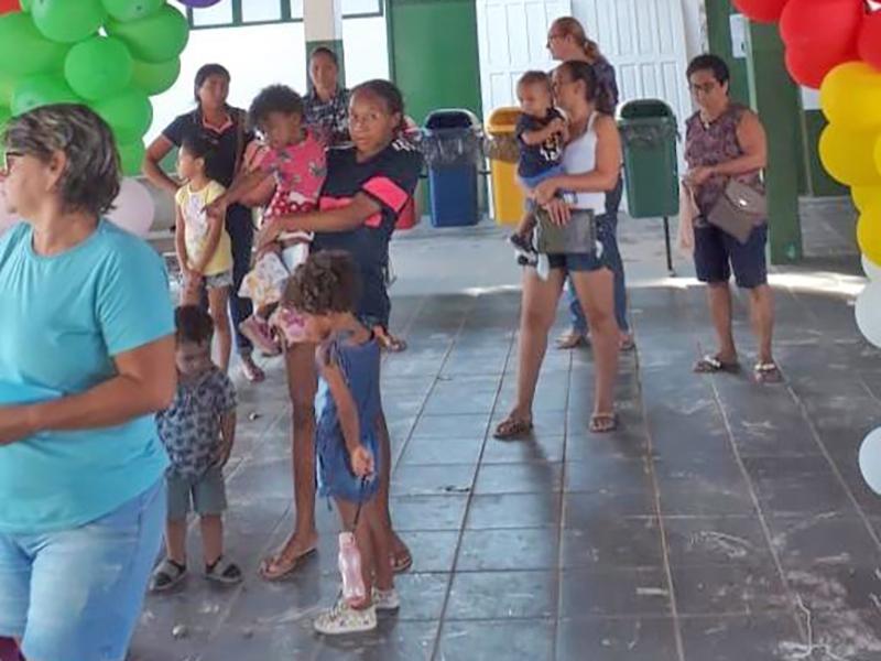 Secretaria de saúde de Juara realiza campanha de vacinação contra sarampo.