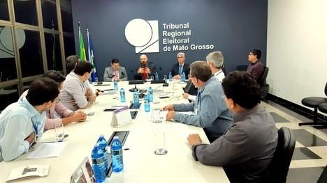 Juiz membro Bruno D'Oliveira Marques assume presidência do Cejud TRE-MT