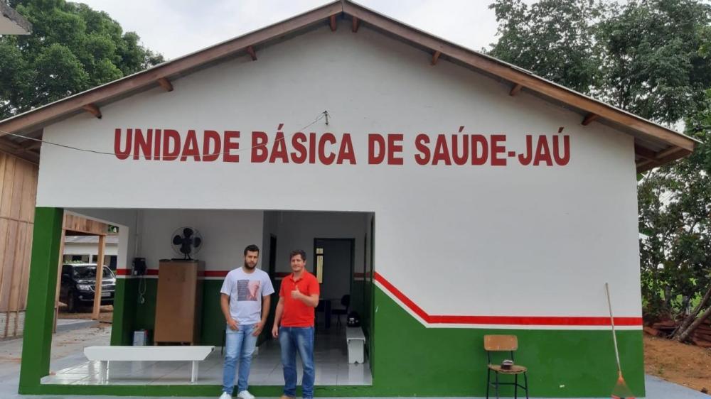 Vereador Flavinho visita Unidade Básica de Saúde da comunidade do Jaú