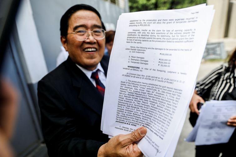 Mentores de massacre nas Filipinas condenados a 40 anos de prisão