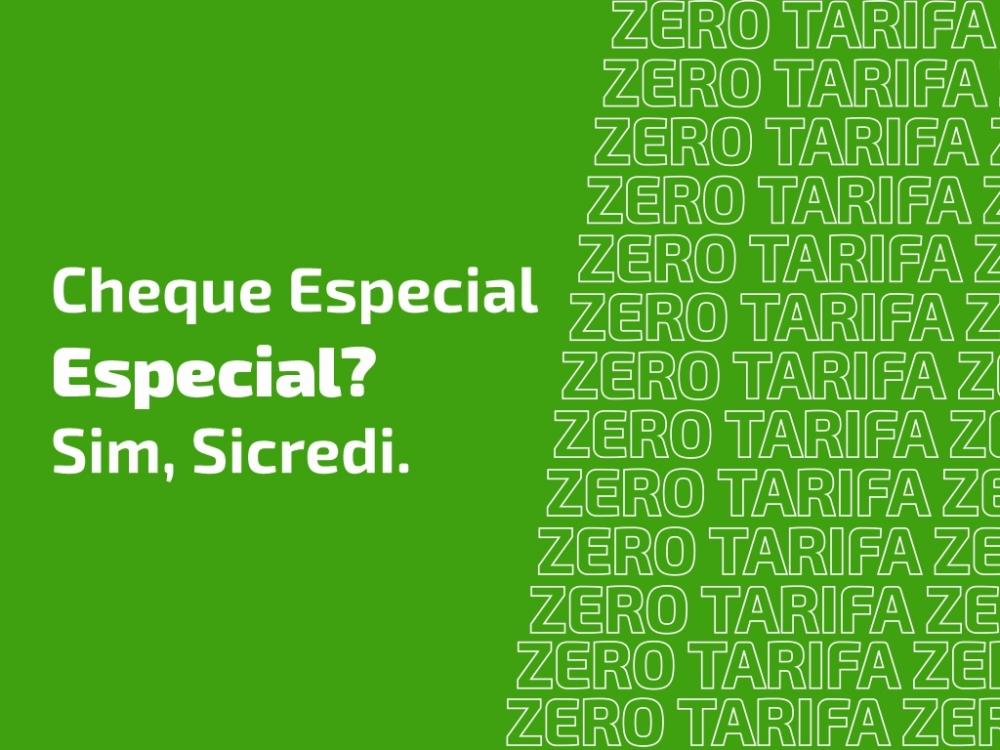 Diretoria Sicredi Univales define taxa abaixo do mercado para cheque especial e zera a tarifa