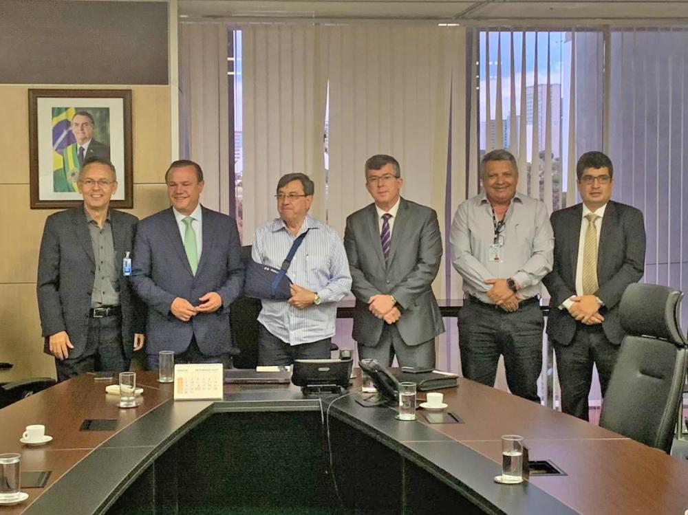 Reunião no DNIT discute infraestrutura em MT e 'desentrave' da BR-242 e Rodoanel
