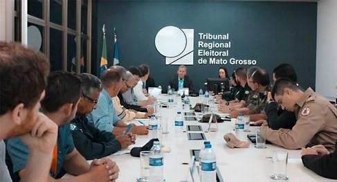 Gabinete de Gestão Integrada inicia elaboração do plano de segurança e logística para a eleição suplementar/Senado