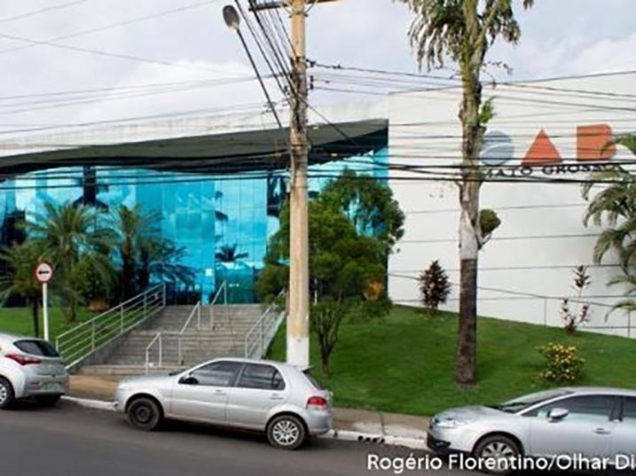 Criminosos invadem prédio da OAB em Cuiabá e tentam atear fogo em documentos