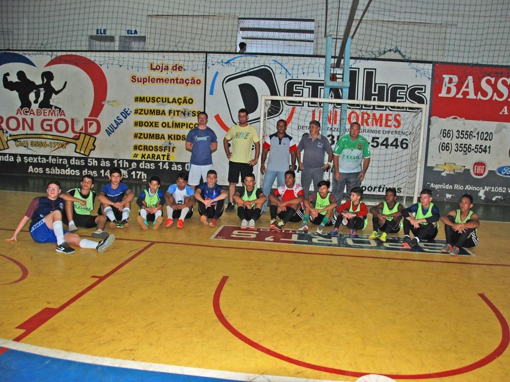 Secretaria de esportes do município de Juara dá início às atividades esportivas nas escolinhas