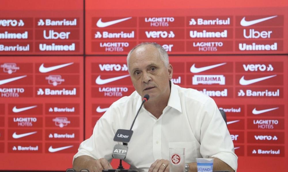 Contraprova de presidente do Inter dá positivo para coronavírus