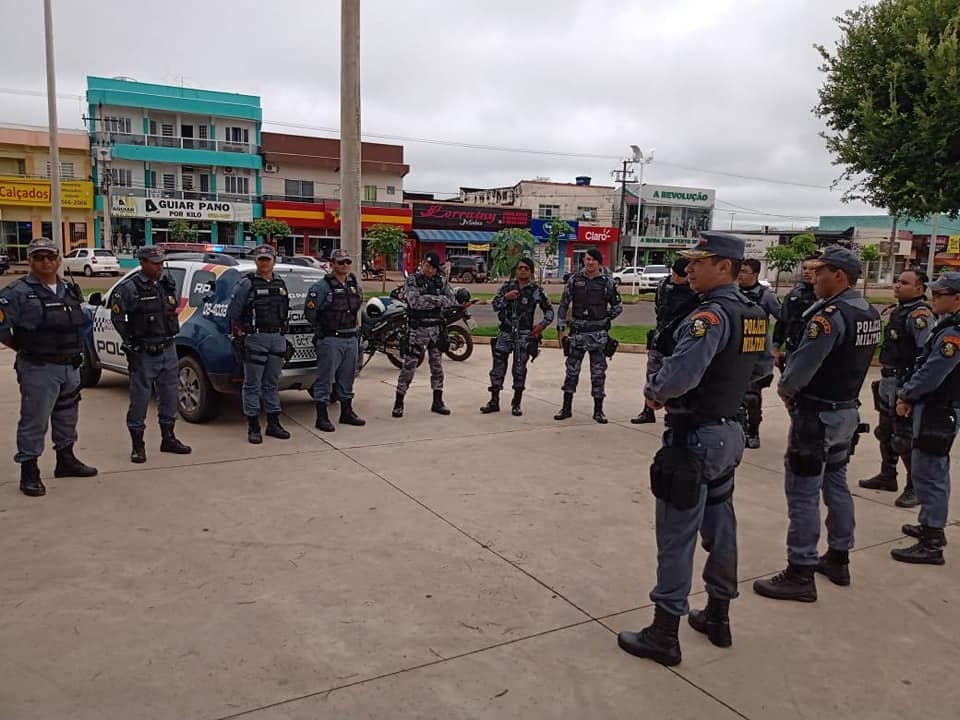Polícia Militar de Juína lança operação dispersão para combater o coronavírus
