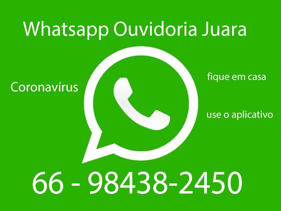 Secretaria de saúde disponibiliza celular com Whatsapp para ajudar no combate ao Coronavírus.