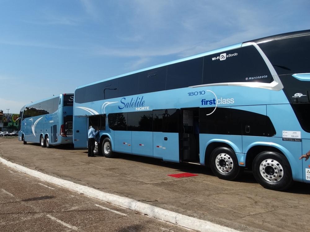Secretaria de Saúde faz parceria para monitorar passageiros que chegarem de ônibus em Juara.