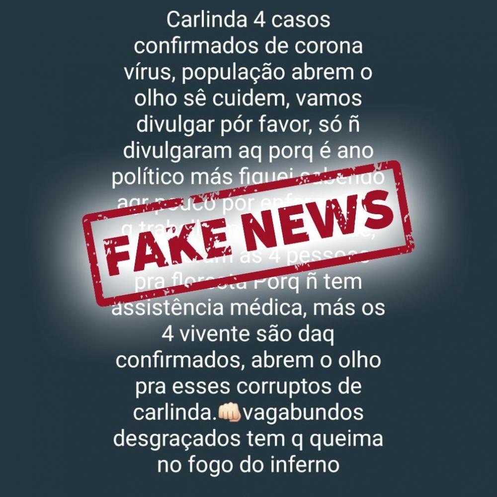 Homem é detido pela PM em Carlinda após postar notícia falsa sobre Covid-19