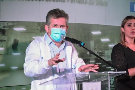 Governador destaca que não existe no Brasil nenhum hospital dessa categoria por esse preço e com essa qualidade