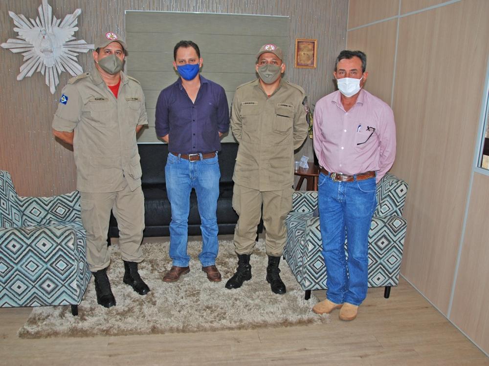 Corpo de Bombeiros propõe instalação de base em Juara durante o período proibitivo das queimadas
