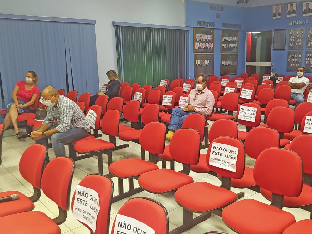 Audiência Pública da LDO pode ser vista no Facebook da prefeitura de Juara