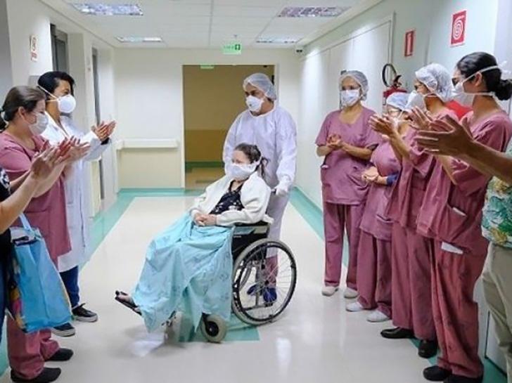 Brasil é 2º com maior número de curados da covid-19 no mundo