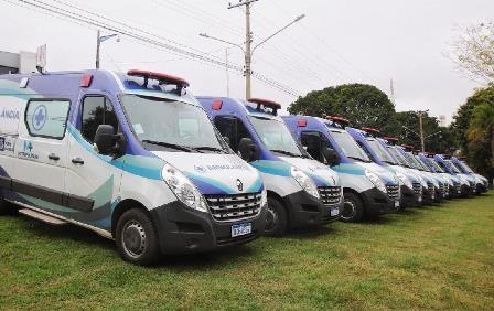 Ambulâncias vão reforçar combate ao coronavírus no interior do Estado