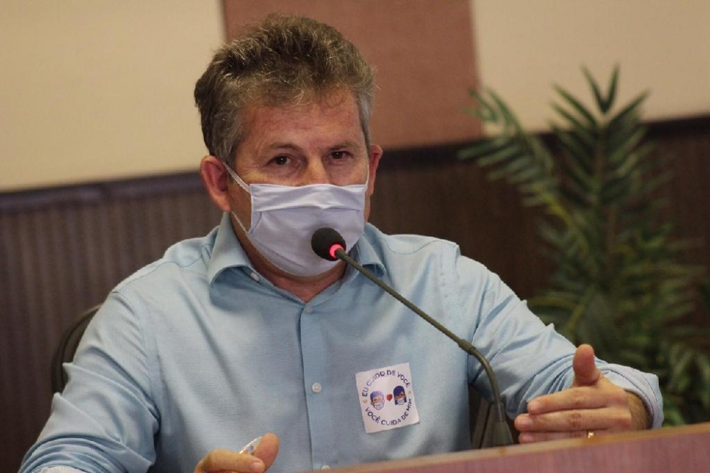 Governador comunica que foi diagnosticado com Covid-19