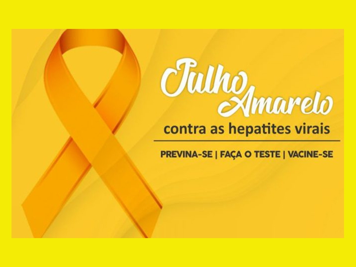 Julho Amarelo alerta população sobre risco das hepatites virais