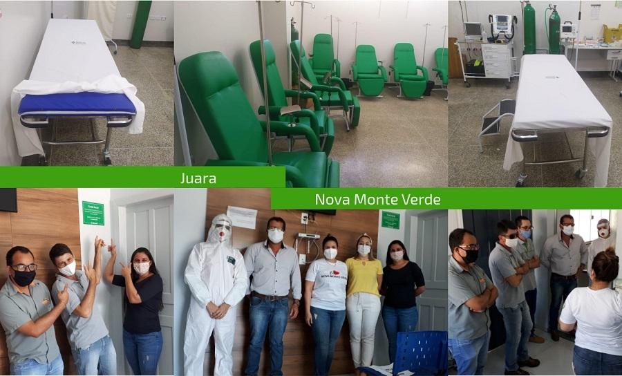 Fundo Social do Sicredi Univales MT/RO ajuda comunidades através de projetos sociais