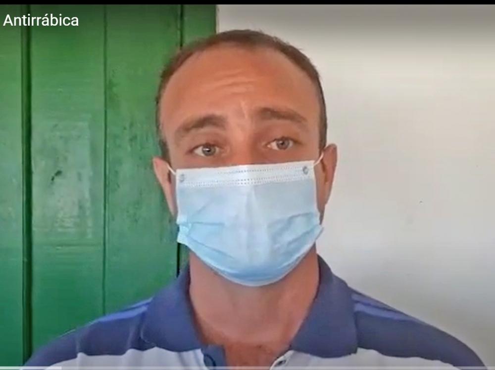 Centro de Zoonose de Juara realiza campanha de vacinação antirrábica no interior do município.