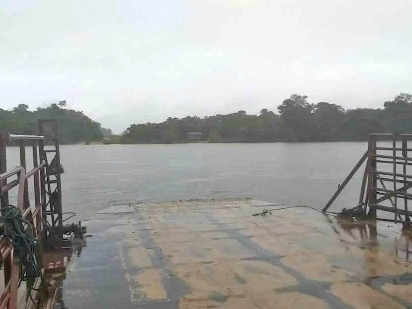 Balseiro da Fazenda Marília cai no rio e desaparece nas águas do Rio Arinos.