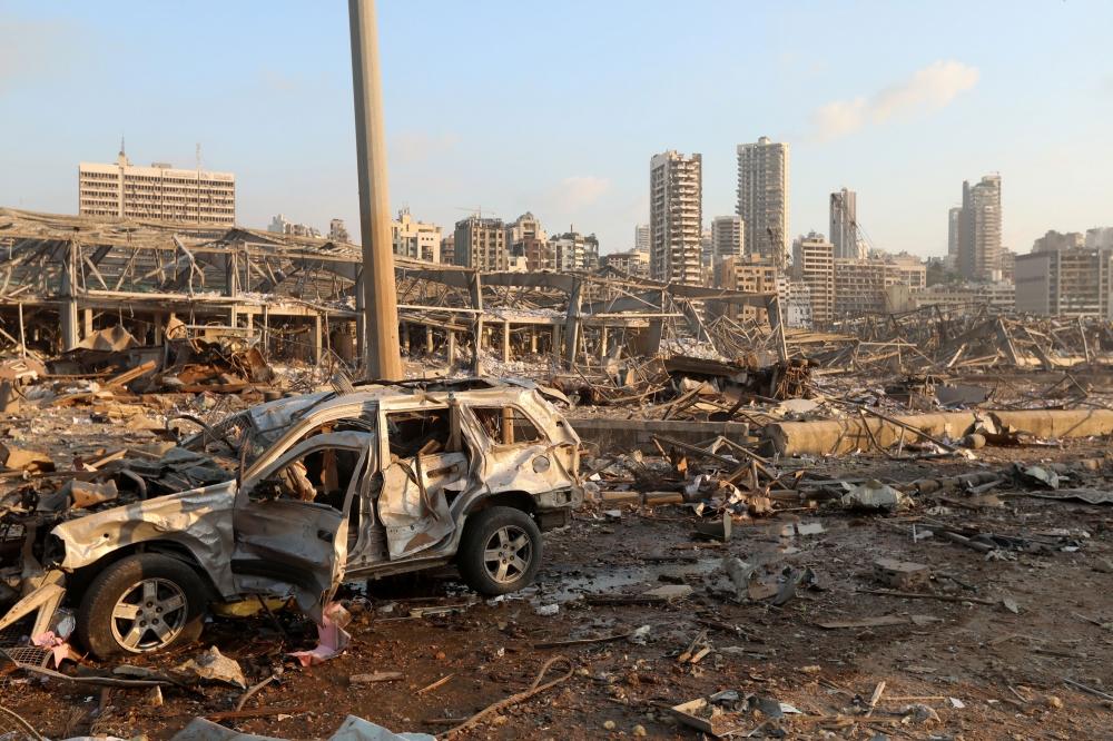 Cruz Vermelha aponta ao menos 100 mortes e 4.000 feridos por explosão em Beirute
